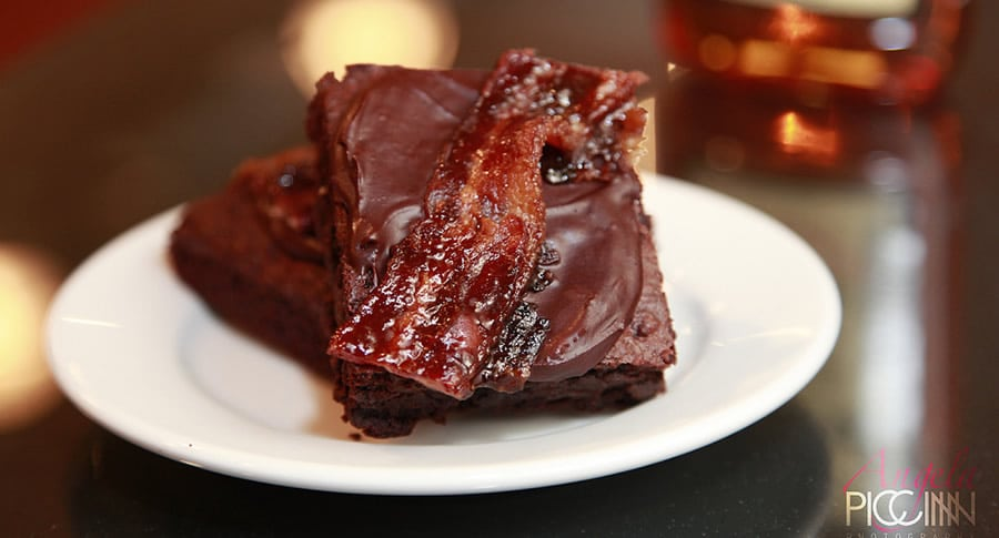 Bacon Bourbon Brownie, o brownie de bacon
