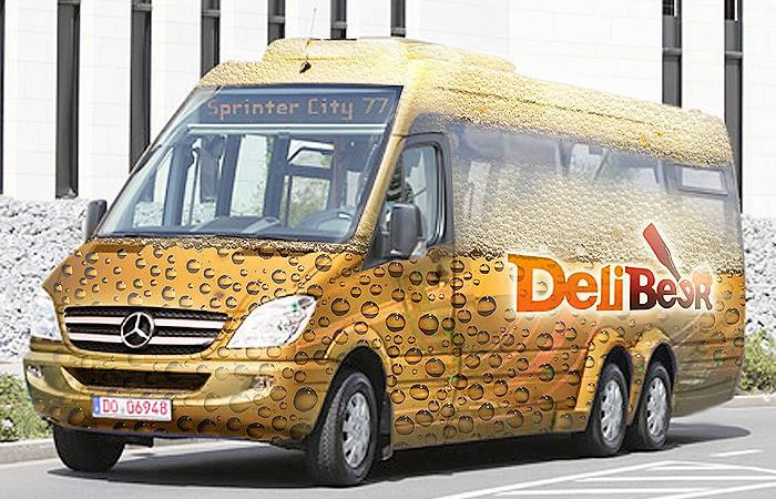 Delibus, o ônibus do Delibeer