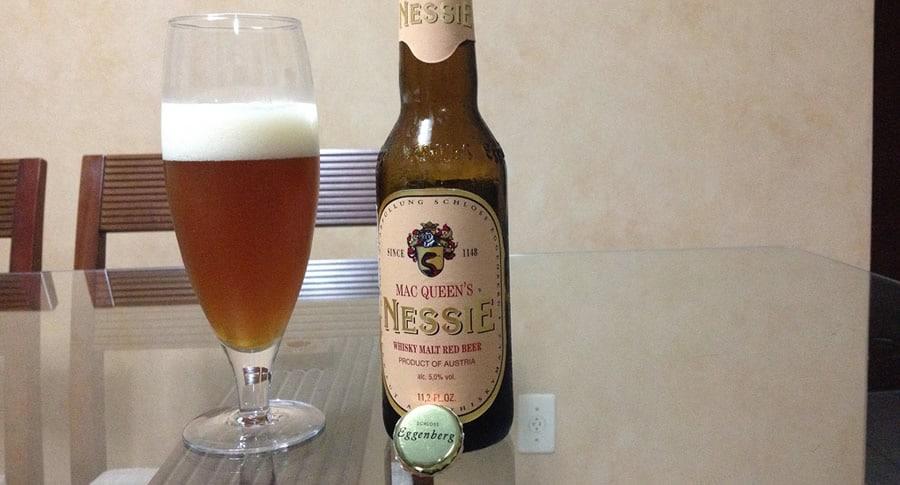 Garrafa da cerveja Mac Queen's Nessie