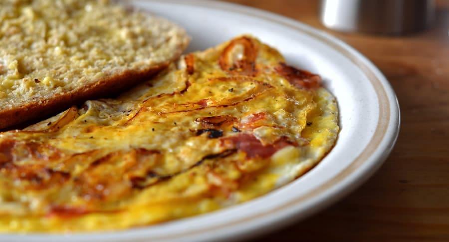 Fritada no café da manhã
