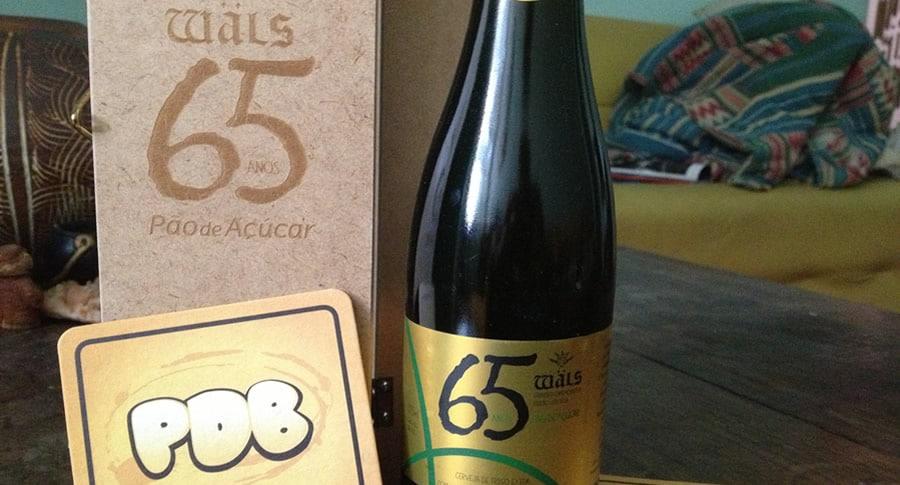 Garrafa da Cerveja 65 anos