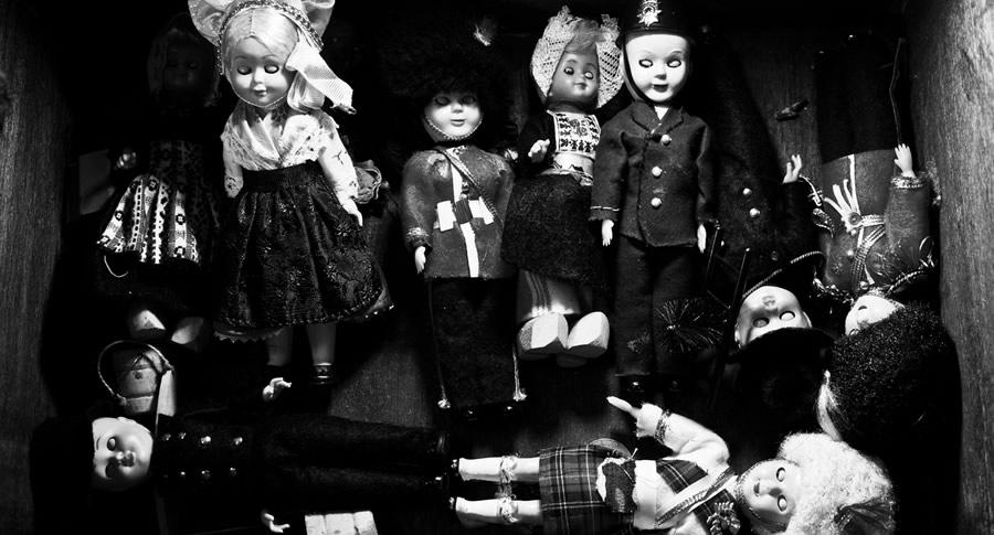 Orgia com bonecos