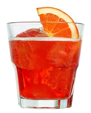 Drink Aperol Spritz no Rock Glass
