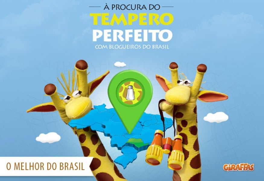Capa do Giraffas