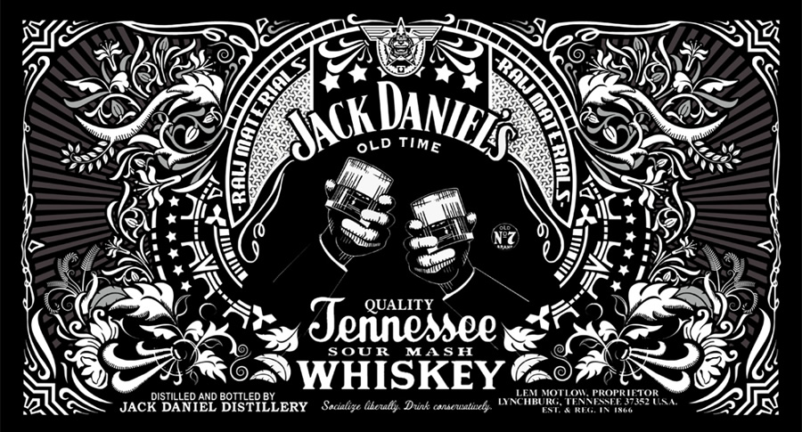 Capa do Jack Daniel's e Rock N Roll
