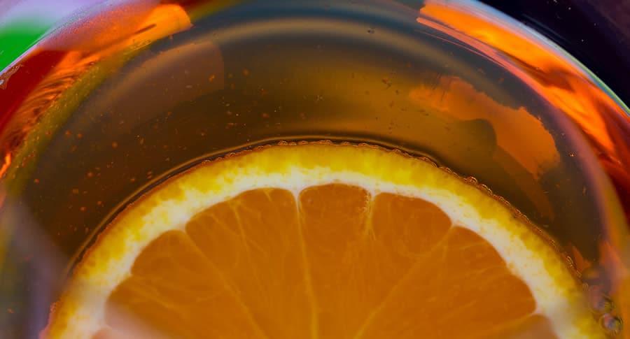 Aperol Spritz com laranja