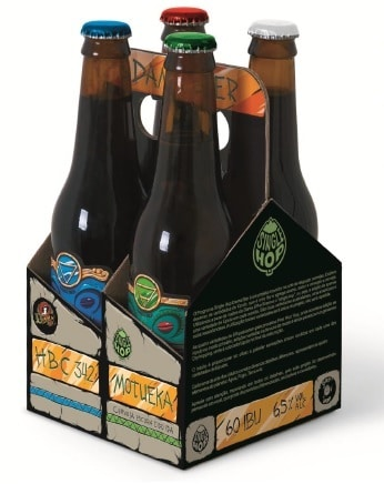 Four Pack da Dama Bier