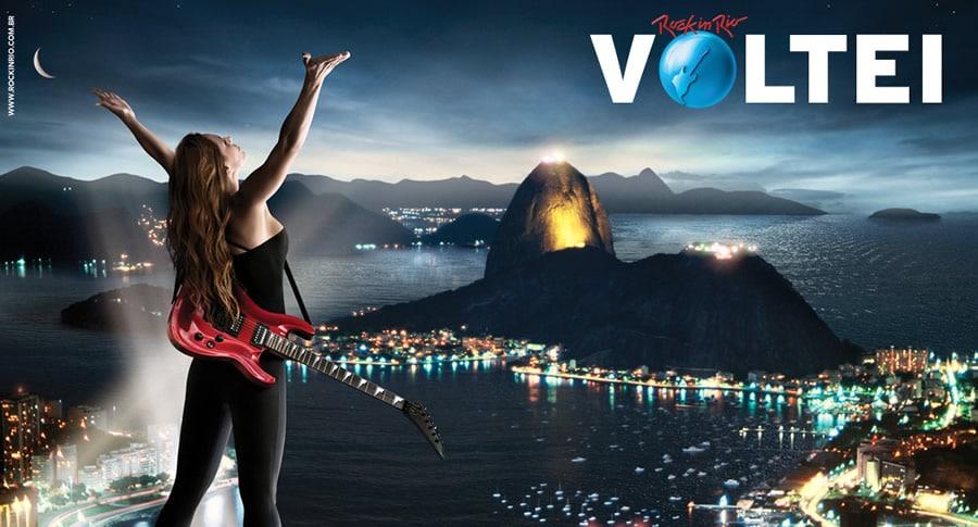 Rock in Rio: Eu voltei!