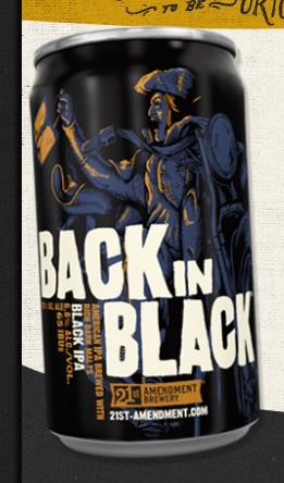 Cerveja Back in Black IPA