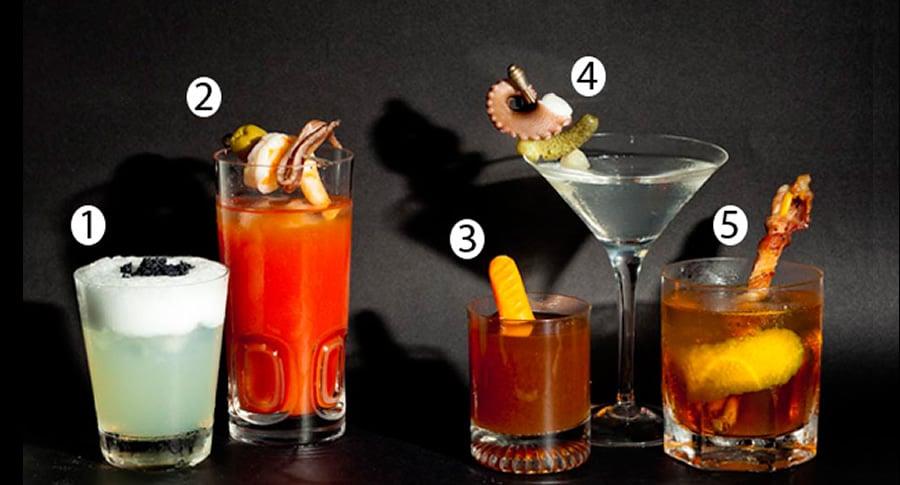 Drinks salgados e carnivoros