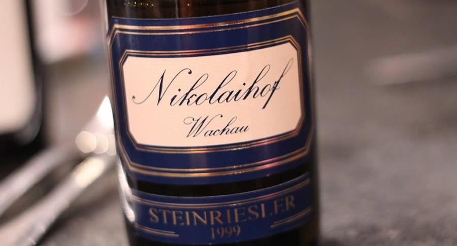 Garrafa do vinho Nikolaihof