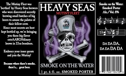 Cerveja Heavy Seas Smoke on the Water