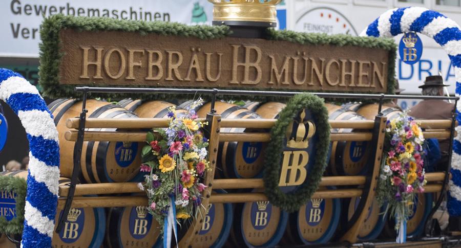 Placa da Oktoberfest de Munique