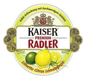 Rótulo da Kaiser Radler