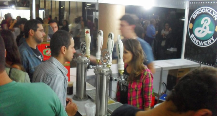 Visitantes no Beer Experience SP 2013