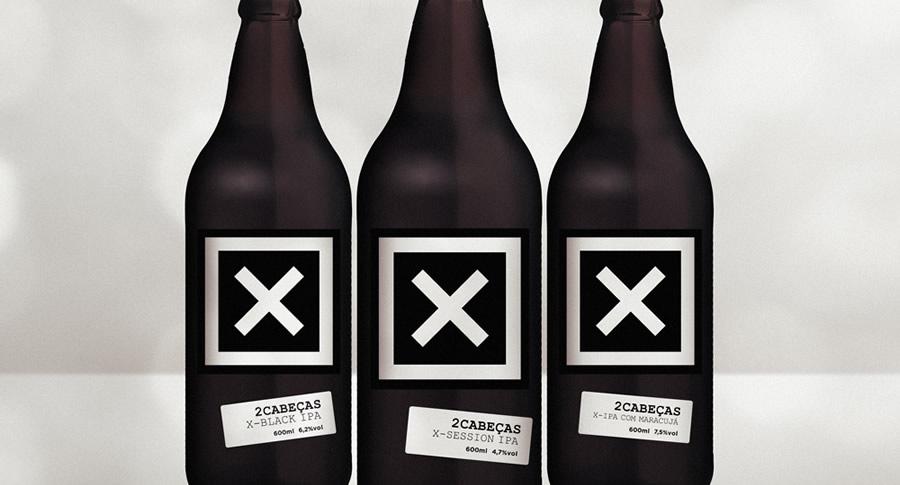 Rótulos da Cervejaria 2cabecas unbranded