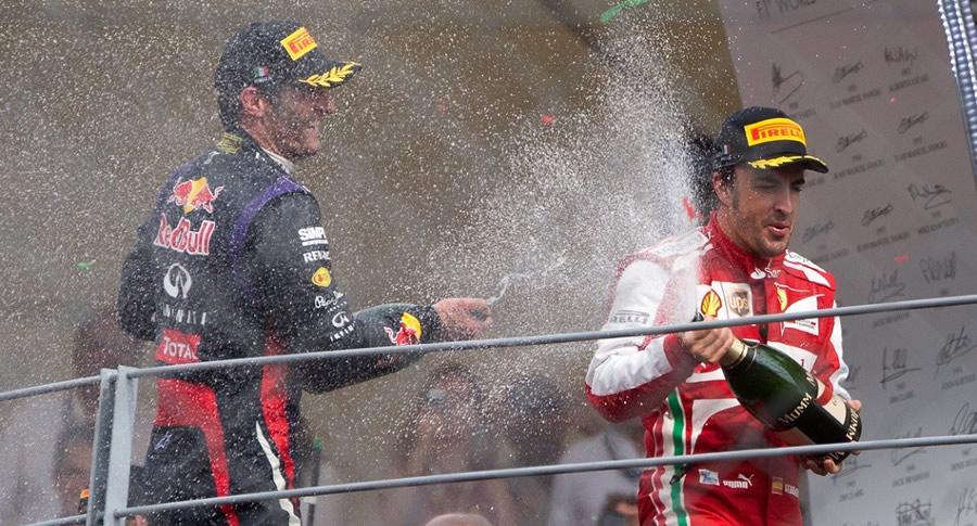 Champagne na F1