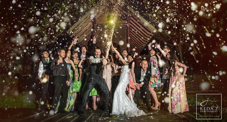 Champagne no casamento