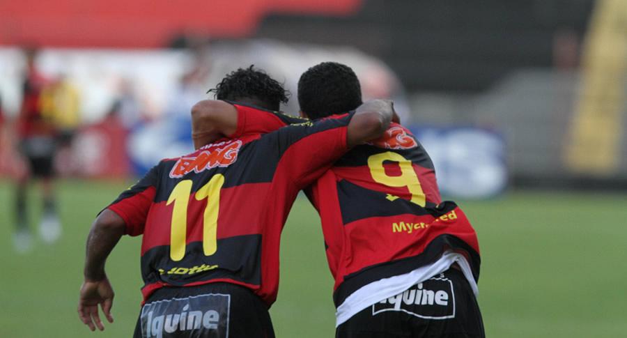 Jogadores do Sport Recife