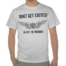 Camiseta de um wingman