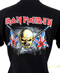 Camiseta do Iron Maiden