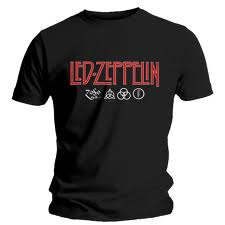 Camiseta do Led Zeppelin