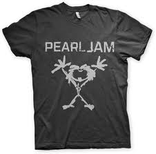 Camiseta do Pearl Jam