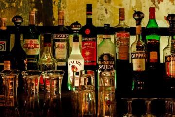 Garrafas de bebidas
