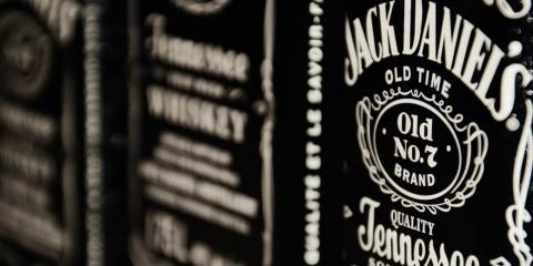 Garrafas de Jack Daniel's