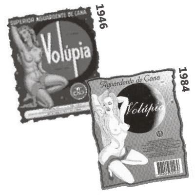 Rótulos da Volúpia