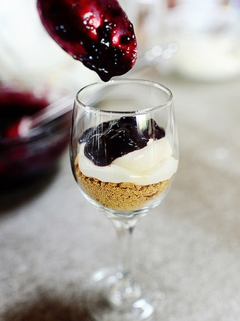 Cheesecake de Cereja e Whisky