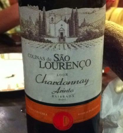 Vinho Colinas de São Lourenço