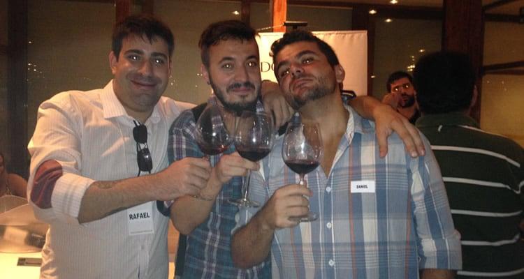 Equipe do PdB reunida no Encontro de Vinhos 2014
