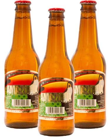 Garrafas da Amazônia Brazilian Beer