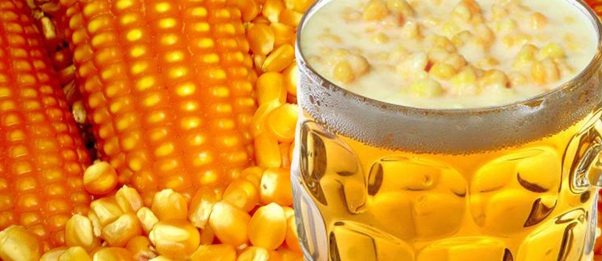 cerveja de milho