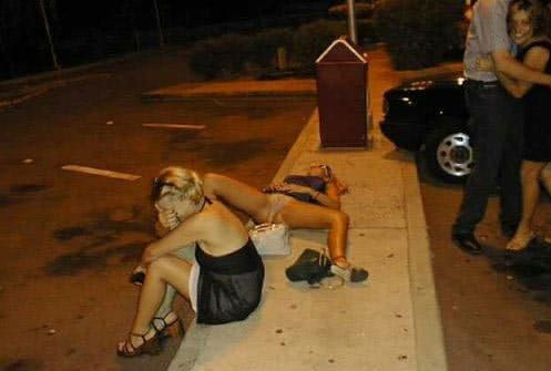 Mulher bêbada