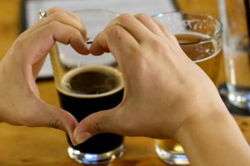 Coração e cerveja