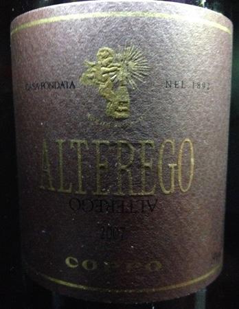Garrafa do vinho Alterego