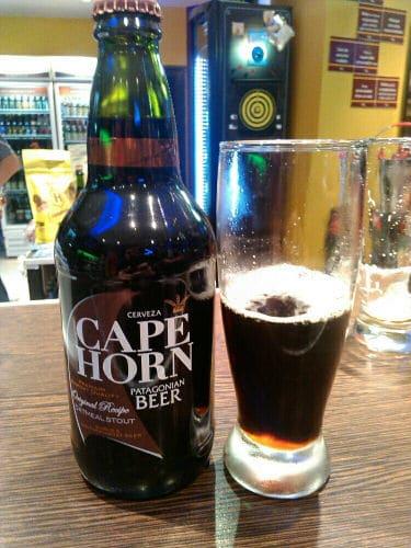 Garrafa da cerveja Cape Horn comprada no Código Cerveza