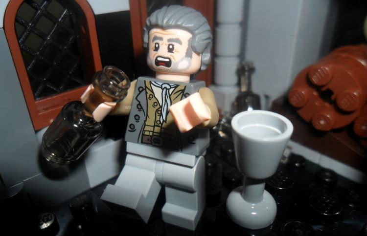 Boneco do lego bêbado