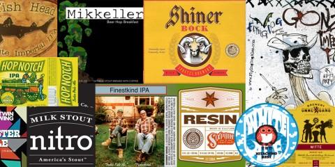 Mosaico das cervejas