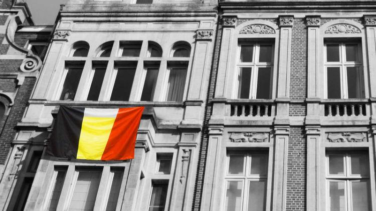 Menos é mais, prédio na Bélgica