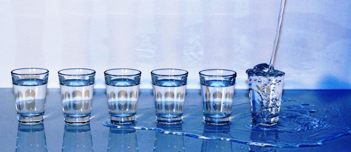 Shots de vodka
