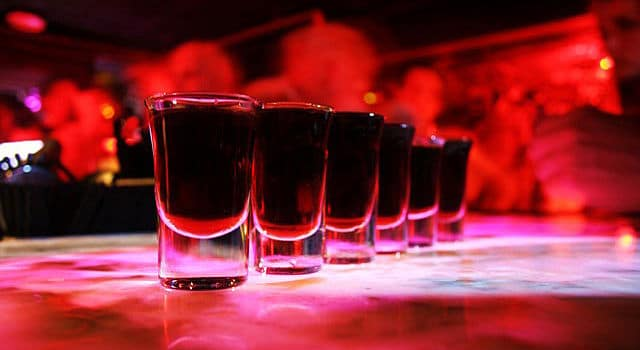 Shots de drinks