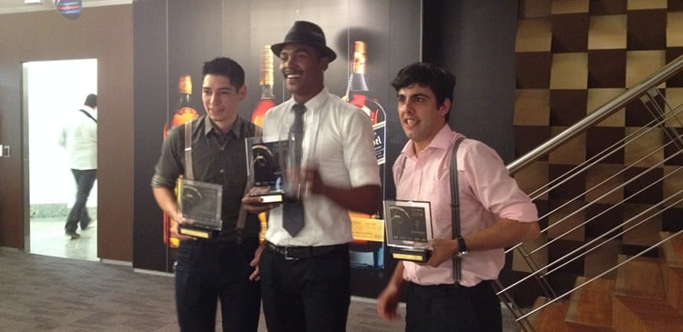 Vencedores do Diageo World Class Competition