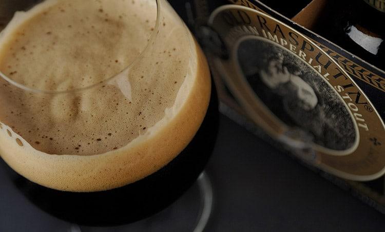 Top 10 cervejas: Garrafa da Rasputin Russian Imperial Stout