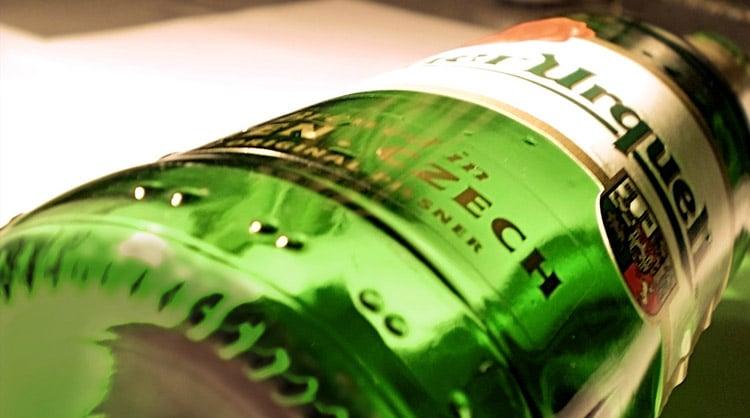 Top 10 cervejas: Garrafa da Pilsner Urquell
