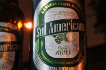 Garrafa da cerveja Sul Americana