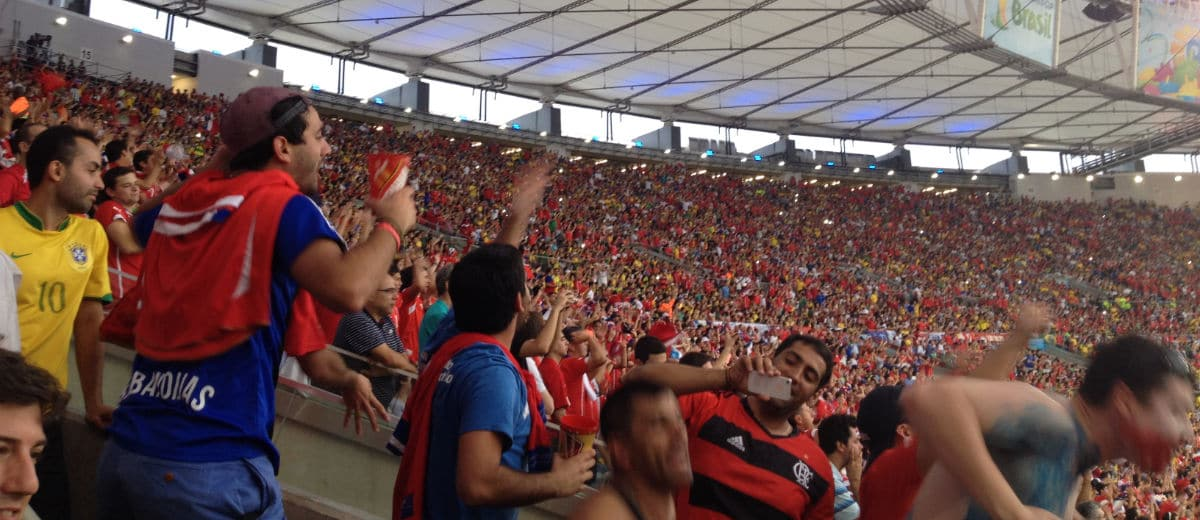 Maracanã lotado na Copa