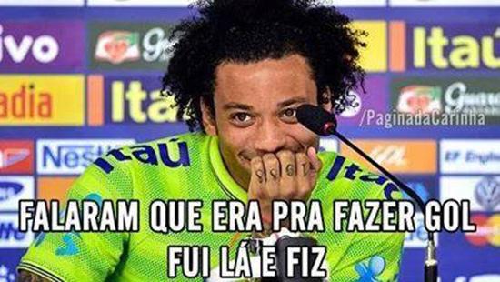 Meme jogador Marcelo